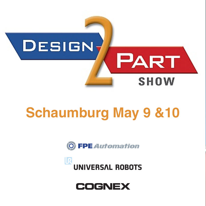 Catch us at D2P at the Schaumburg Convention Center May 9-10