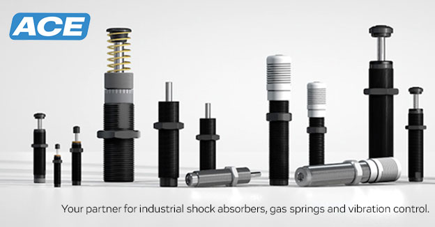 Ace ControlsShock absorbers, gas springs, rotary dampers & vibration control.