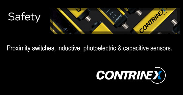 ContrinexLight curtains, proximity switches, inductive, photoelectric & capacitive sensors, safety products.