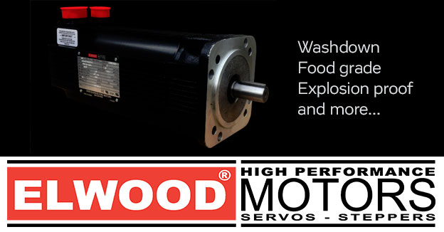 ElwoodHigh performance, food grade and explosion-proof servo and stepper motors.