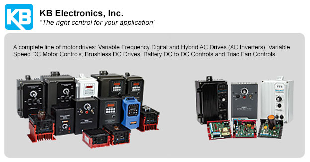 KB ElectronicsAC & DC speed controls, drives (inverters).