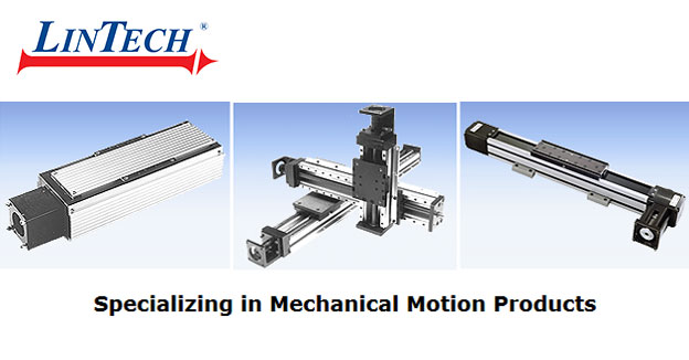 LinTechMechanical positioning components; linear and round bearing systems.