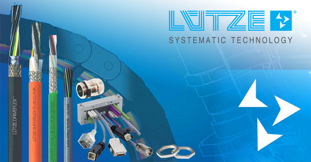 LutzeCable, cord sets, wiring, network I/O suppressors & power supplies.