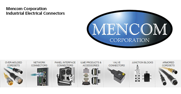 MencomIndustrial electrical connectors & panel interface.