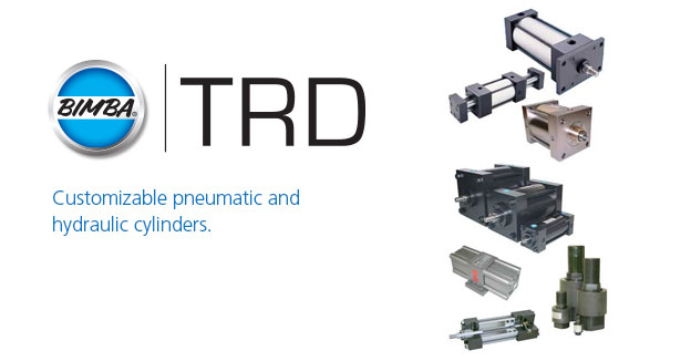 TRDCustomizable pneumatic and hydraulic cylinders.