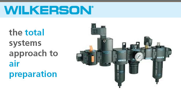 WilkersonCompressed air treatment systems; filters, regulators & lubricators, air preparation.