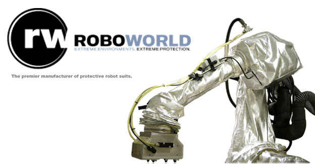 RoboworldProtective robot suits.