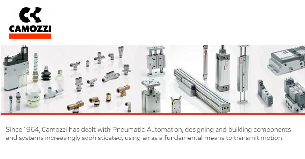 CamozziPneumatic fittings, flow controls and mechanical valves.