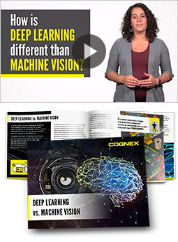 How is deep learning different from machine vision?