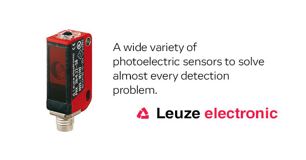 Leuze Electronic: Wide Selection of Photoelectric Sensors to Solve Almost Every Detection Problem