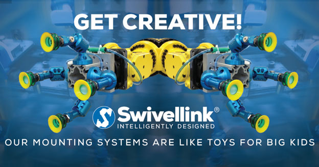 Swivellink: Our Mounting Systems Are Like Toys for Big Kids