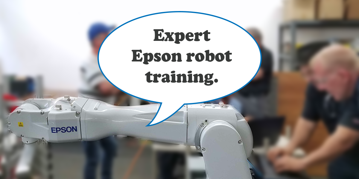 Epson Robot Training at FPE Automation
