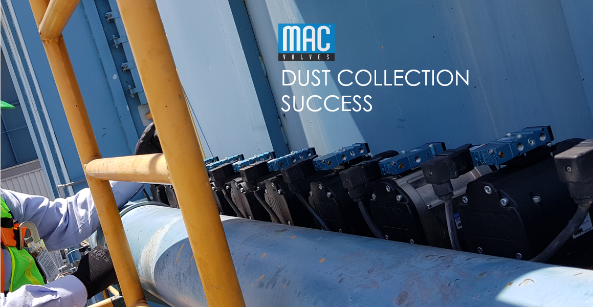 MAC Valves Pulse Valves for Industrial Dust Collection