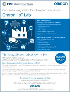 FPE Automation & Omron Host IIoT Lab