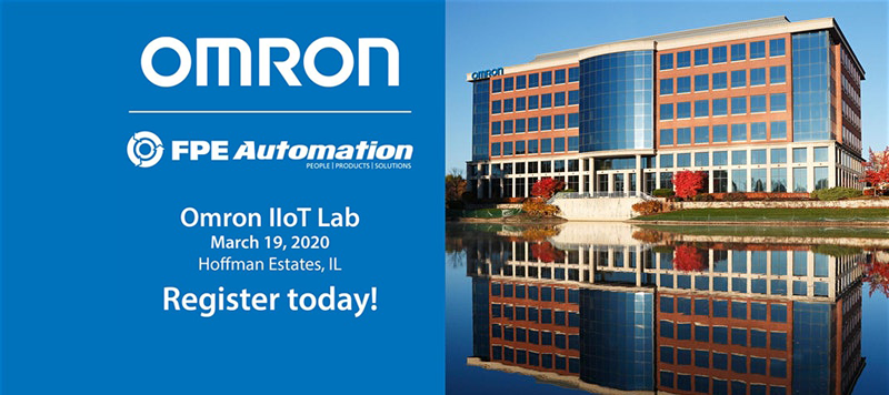 Omron IIoT Lab: One-day learning session for automation professionals