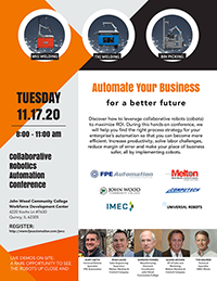 Collaborative Robotics Automation Conference